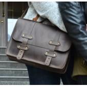 Портфель кожаный Folio Brown
