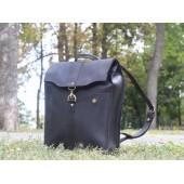 Рюкзак кожаный Carbine Black