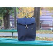 Рюкзак кожаный Carbine Blue