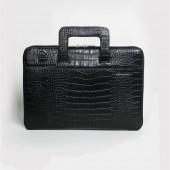 """Маленькая кожаная сумка для ноутбука MACBOOK 13"""""""