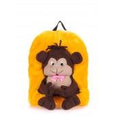 Детский рюкзак с обезьяной