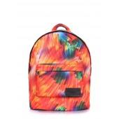 Рюкзак c цветным принтом